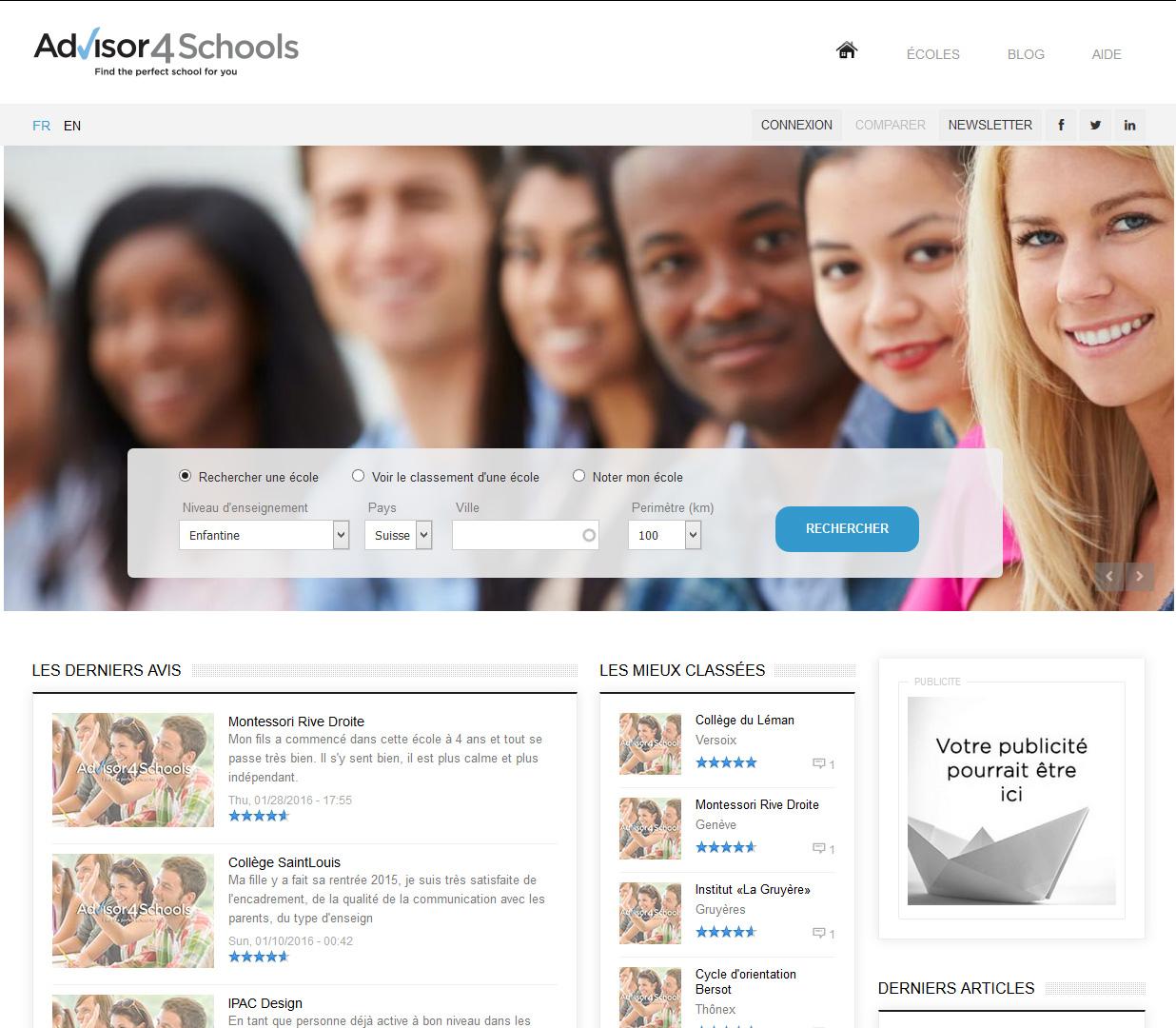 Signature de Luxe - Website - Advisor4Schools