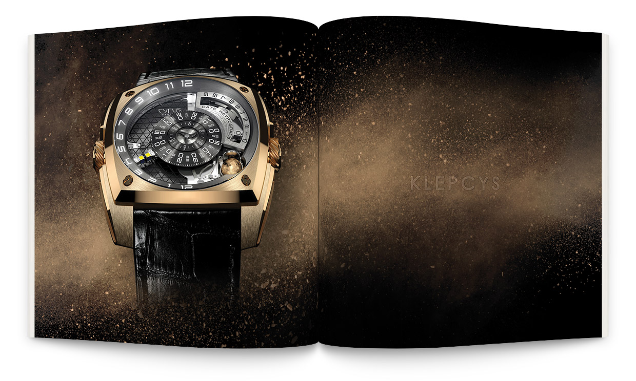 Signature de Luxe - Catalog - Cyrus Watches