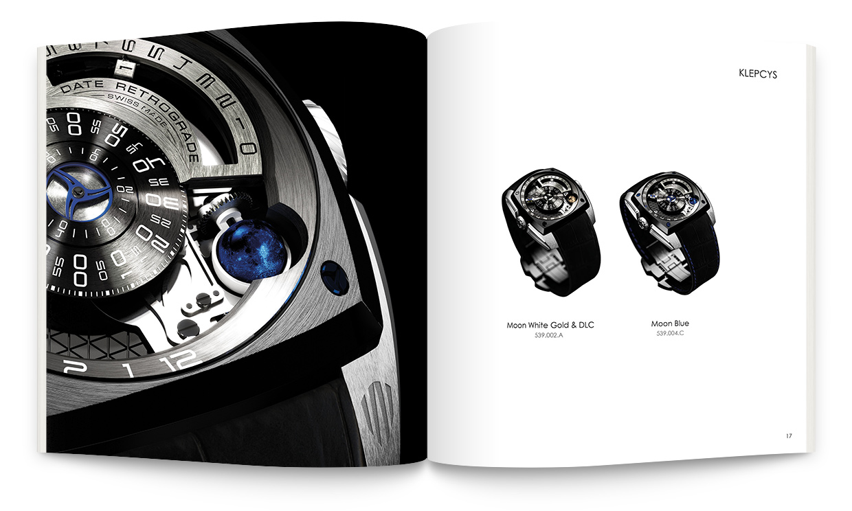 Signature de Luxe - Catalogue - Cyrus Watches