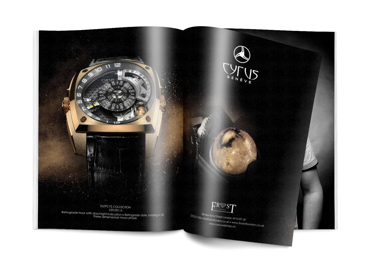 Signature de Luxe - Advertising - Cyrus Watches