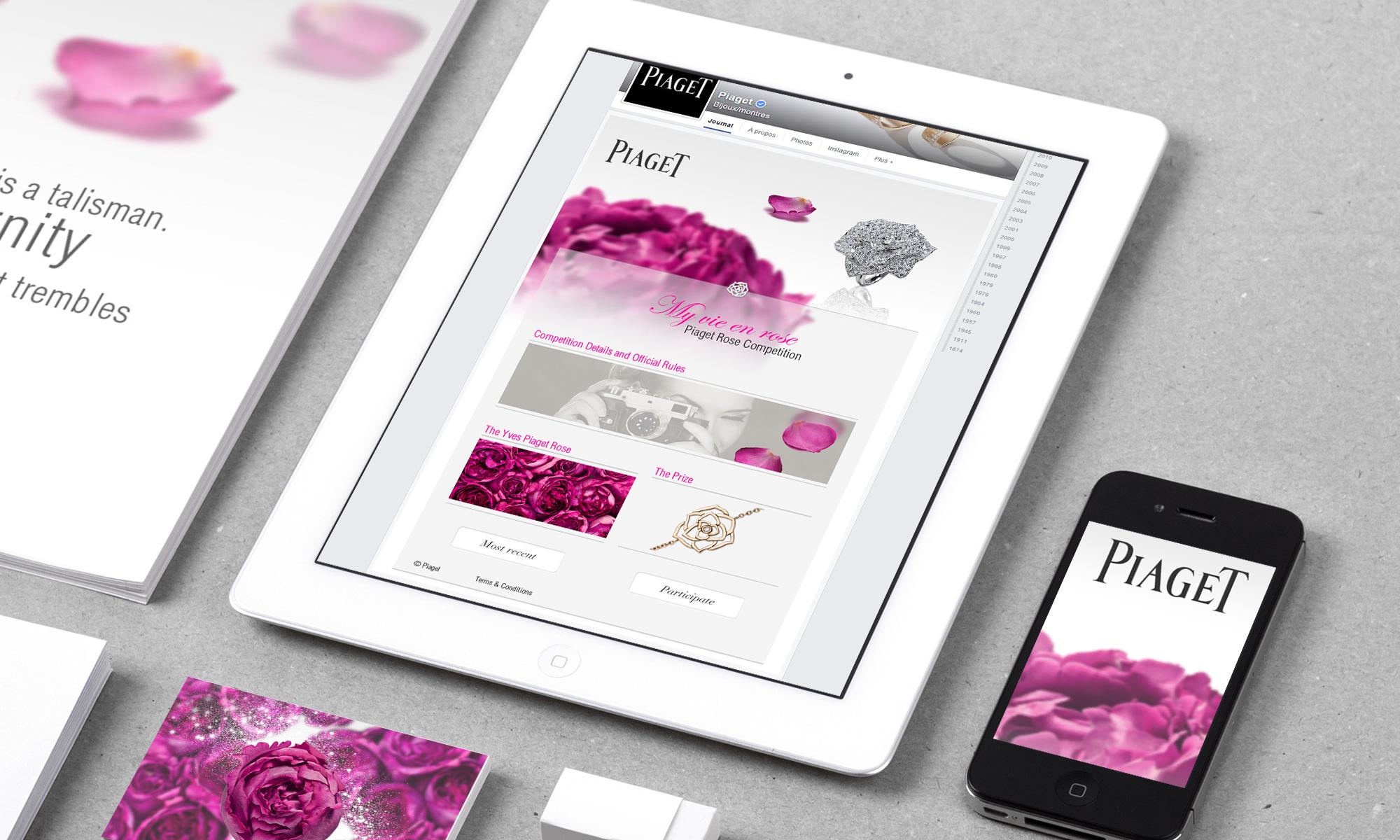 Signature de Luxe - Social networks - Piaget