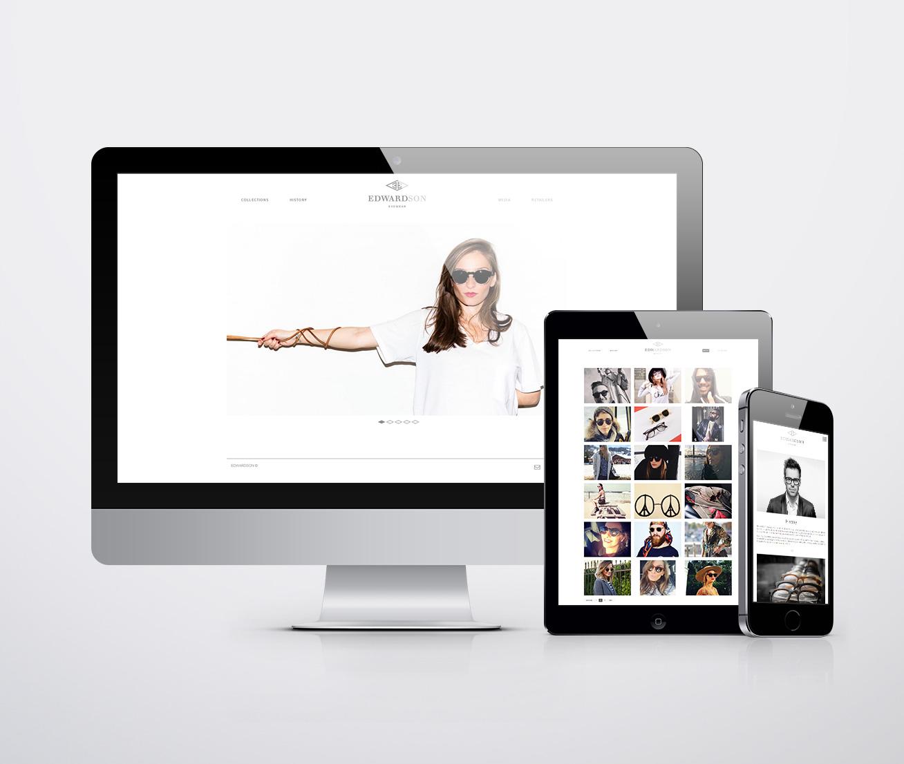 Signature de Luxe - Website - Edwardson Eyewear