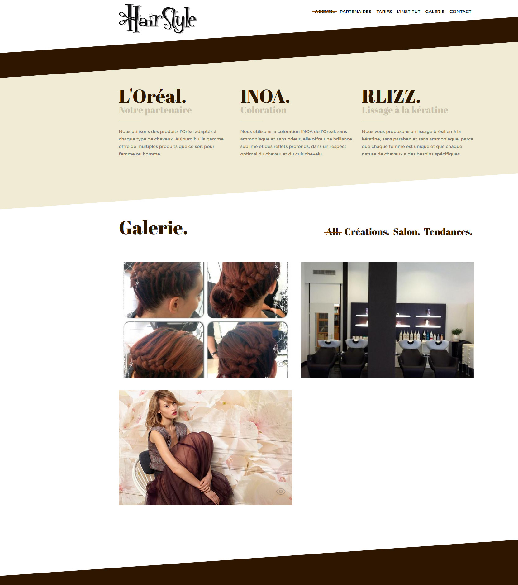 Signature de Luxe - Website - Hair Style