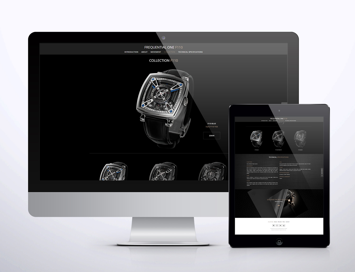 Signature de Luxe - Website - MCT Watches