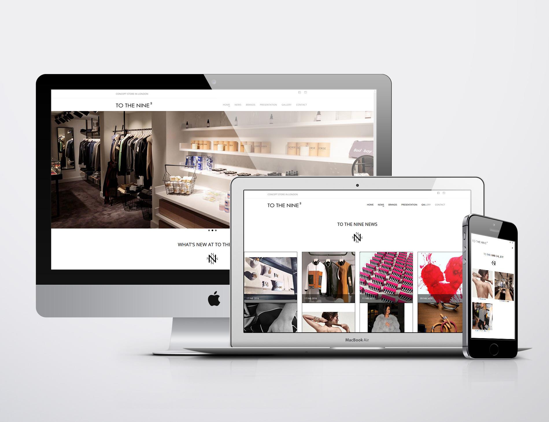 Signature de Luxe - Website - To The Nine London