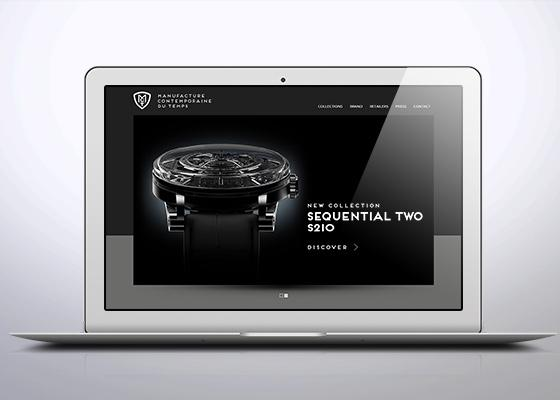 Signature de Luxe - Site Internet - MCT Watches