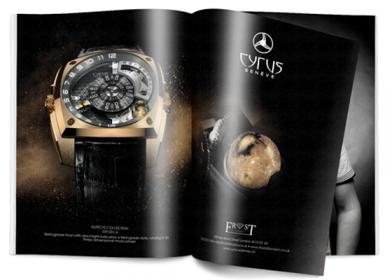 Signature de Luxe - Pub - Cyrus Watches