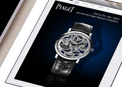 Signature de Luxe - Réseaux Sociaux - Piaget
