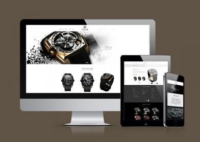 Signature de Luxe - Site web - Cyrus Watches